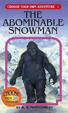 The Abominable Snowman R.A. Montgomery Choose Your Own Adventure 1 ~ Like New!