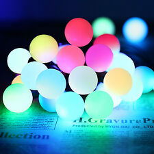 20ft Globe RGB Automatic Color Changing Fairy LED Christmas String Lights