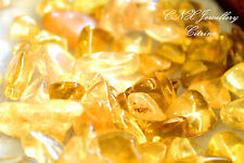 Tumbled Gemstone Crystal Citrine 5g Chip Stone Birthstone Gemini Virgo