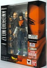 Brand New Bandai Tamashii Web Exclusive S.H.Figuarts Dragonball Z Android 17 USA