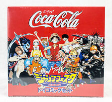 Coca Cola Shonen Jump Festa 2005 Toy Comic Set Figure JAPAN ANIME NARUTO BLEACH