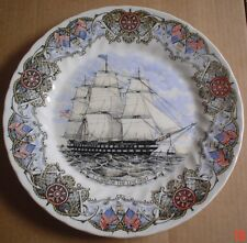 Churchill Collectors Plate U S SHIP OF THE LINE OHIO - TALL SHIPS PLATE #2