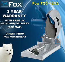 """Fox F20-140A Metal Cut-Off Saw 355mm 14""""  with blade & Free Delivery"""