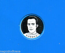 KICA - Sorprese Decalcomania Figurina-Sticker anni 60 - SUAREZ SCUDETTO METALLO