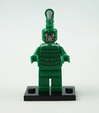 Scorpion Spider Man Villain minifigure custom toy With Lego Sticker movie