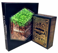 Minecraft 5 Handbooks Collection Set Mojang Book Blockopedia Construction