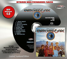 Earth, Wind & Fire - Open Our Eyes Audio Fidelity Numbered Multichannel SACD