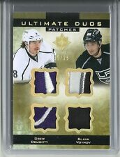 2013-14 Ultimate Collection DREW DOUGHTY SLAVA VOYNOV Duos Patches Serial #15/25