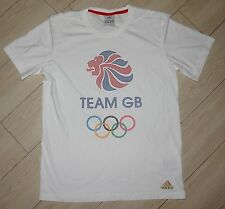 NEW adidas TEAM BG Olympics Tee Shirt T-Shirt Short Sleeve Unisex Adult M Medium