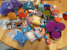 Latch Hook rug yarn large lot of many colors wool