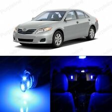 10 x Blue LED Interior Lights Package Kit For Toyota Camry 2007 - 2011