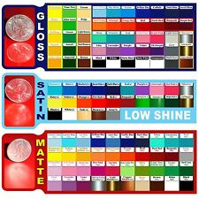 """10 Roll 12"""" Adhesive Backed Vinyl for craft & sign Cutters Gloss, Satin, Matte"""