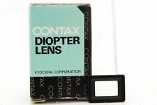 [UNUSED] Genuine Contax Diopter Lens FL 0 for RX/II Aria S2/b 167MT NX #312