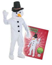 Schneeman Kostüm Erwachsene FROSTY Luxusqualität USA Import Winter Weihnachten