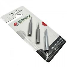 New 3 in 1 High Quality Soldering Iron Tip , Brand BAKU BK ,Made of Static