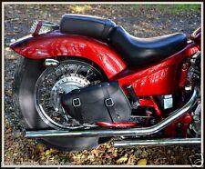 Bolsa lateral de piel - Leonart Daytona / Spyder , 600 shadow para lado derecho