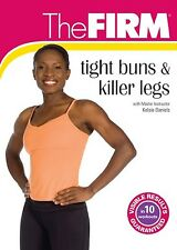 The FIRM - TIGHT BUNS & AND KILLER LEGS (DVD) Kelsie Daniels workout power NEW