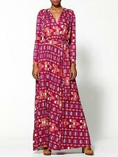 Rachel Pally Rocio Maxi Wrap Dress - Sz XS 'Dusk Native' Print Beautiful! NWT