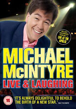 MICHAEL MCINTYRE - LIVE AND LAUGHING - DVD - REGION 2 UK
