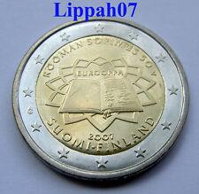 Finland 2 euro Verdrag van Rome 2007 UNC