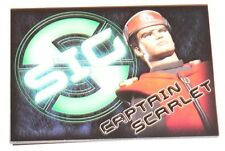 Thunderbirds Captain Scarlet by Cards Inc in 2001 Complete 6 card insert set