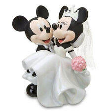 Disney World Parks Mickey & Minnie Wedding Cake Topper Figurine Exclusive NEW