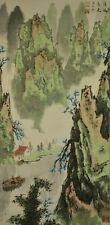 Chinese Painting Hanging Scroll Landscape China Asian art ink Paint Picture w96