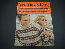 Woman's Day Magazine,February 1967,Men/Woman,by Bill Adler,Desserts,Tension
