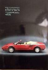 Ferrari Mondial 3.2 Factory Car Poster Extremely Rare! Own It!