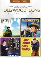 Universal Hollywood Icons Collection: James Stewart (Harvey / Winchester '73 / T