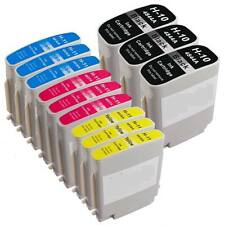 12 Compatible Ink cartridge for HP 10 11 C4844A C4836A C4837A C4838A Inkjet 2250