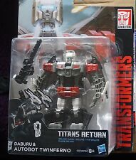 Transformers Generations Titans Return Twinferno Deluxe Class