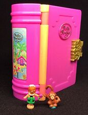 Polly Pocket Mini �� 1995 - Tropical Island / Glitter Paradise Buch Dose (2)
