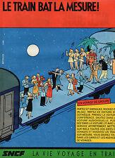 Publicité 1997  SNCF  le train bat la mesure !