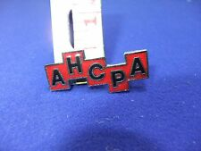 vtg badge ahcpa assn health centre practice administrators nursing care hospital
