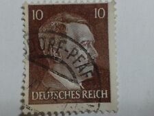 3 x MILITARY WORLD WAR TWO ADOLF HITLER POSTAGE STAMPS GERMANY - 10 - 12 - 24