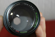 RICOH Mount Kimunor 135MM F2.8 prime / Portrait auto Lens Fully Working