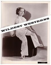 Rare SHIRLEY TEMPLE pajamas portrait VINTAGE Original PHOTO cute preteen actress