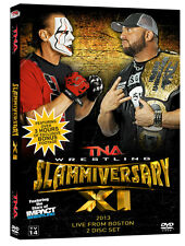 TNA Impact Wrestling Slammiversary XI 11 2013 DVD Sting Bully Ray 2 Disc Set