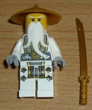 Lego Ninjago Figur Sensei Wu mit Säbel