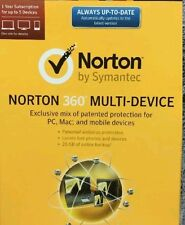 Activation code for Norton 360 Multi-Device 1 Year Subscription for 5 devices