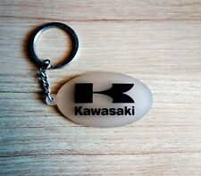 Kawasaki Keychain Key ring clear Rubber Motorcycle Bigbike Collectible Gift New