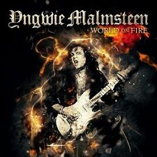 Yngwie Malmsteen ‎- World On Fire - CD