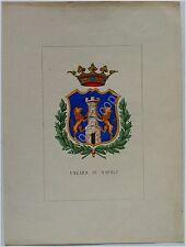 Araldica - L. TETTONI E F.SALADINI - MDCCCXLIII (1843) -  UNGARO DI NAPOLI