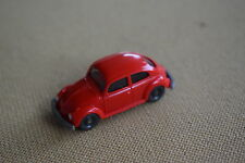 Vintage Wiking Germany 1960's Volkswagen Beetle straight windshield in red