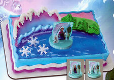 FROZEN ANNA AND ELSA CAKE DECORATING KIT Toppper Disney Decoration Birthday