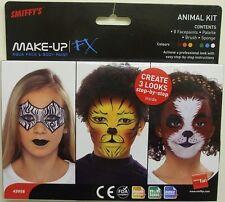 Smiffys FX Maquillaje Disfraz Pintura Facial 8 Cols Infantil Animales Kit