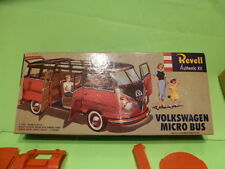 REVELL AUTHENTIC KIT VW VOLKSWAGEN MICRO BUS T1 - RED 1:43 - EXTREMELY RARE NMIB