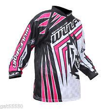 Nuevo Wulfsport Niños Rosa 3-4 años Camisa Jersey Motocross Quad PW LT Niña Junior