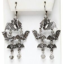 NEW KIRKS FOLLY BEWITCHING BABY BATS LEVERBACK EARRINGS ~NEW RELEASE~~
